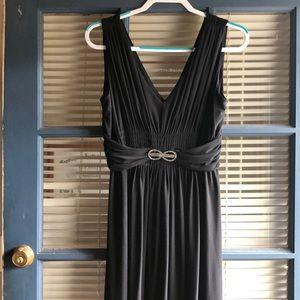 Jones New York black sleeveless dress